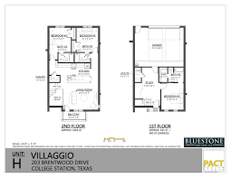 college floor plans villaggio college station floor plans for you unit h floor