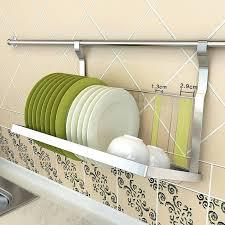 kitchen wall storage wall storage racks good convenient folding drain rack dish rack dish