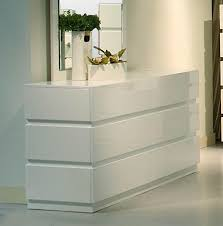 White Gloss Bedroom Drawers Glossy White Dresser Bestdressers 2017