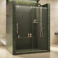 kohler levity 59 in x 82 in semi frameless sliding shower door