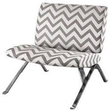 Chevron Accent Chair Monarch Specialties I8007 French Fabric Accent Chair In Vintage