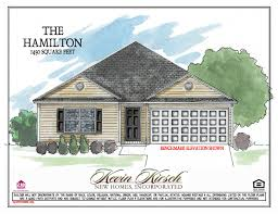 the hamilton floor plans kevin kirsch homes