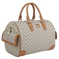 rioni women u0027s u0027boston u0027 vanilla large satchel bag free shipping