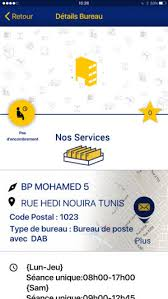 code bureau de poste tn post on the app store