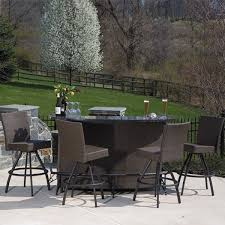 bar patio furniture set easy create western with regard to stylish