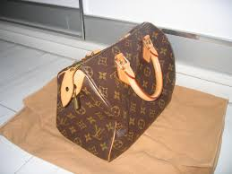 used louis vuitton speedy 25 in monogram for sale