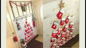 diy pottery barn knock off christmas advent calender youtube