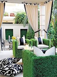 White Patio Cushions by Striped Patio Cushions Home Design Inspiration Ideas And Pictures