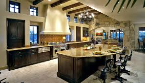 large kitchens with islands 64 deluxe custom kitchen island designs beautiful