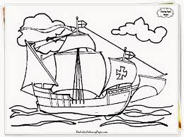 christopher columbus coloring pages picture coloring page 2890
