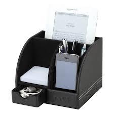 Desk With Charging Station Wooden Pencil Cups With Picture Frames U0026 Card Holder Desk Set