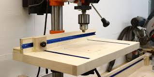 best drill press table how to build a simple drill press table the average craftsman