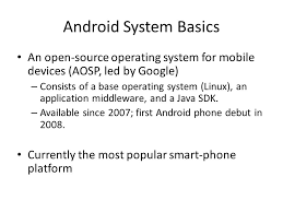 android system security xinming ou android system basics an open