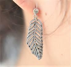 feather earrings feather earrings emilyfraser