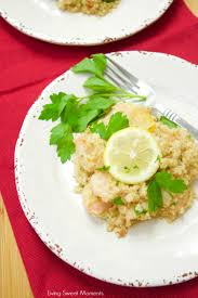 amazing seafood quinotto recipe living sweet moments