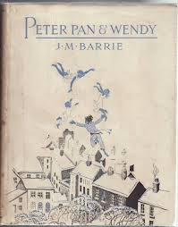 peter pan and wendy decorated by gwynedd m hudson by barrie