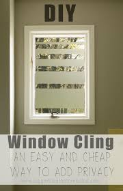 bathroom window ideas for privacy add privacy to bathroom windows with this diy contact paper window