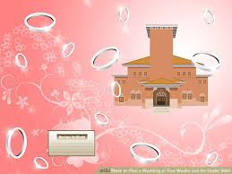 Wedding Venues Under 1000 How To Plan A Wedding In Two Weeks And For Under 500