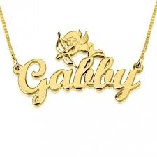 Gold Engraved Necklace 78 Best Gold Plated Name Necklaces Images On Pinterest Name