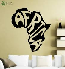 Modern Wall Stickers For Living Room Online Get Cheap Africa Wall Decal Aliexpress Com Alibaba Group