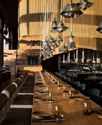 restaurant interior decorating in golden color scheme interiorzine