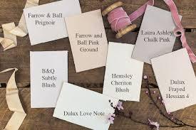 picking a blush pink paint rock my style uk daily lifestyle blog
