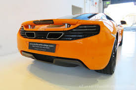 orange mclaren 2013 mclaren 12c 50th anniversary classic throttle shop