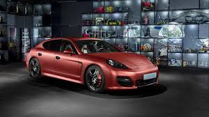porsche panamera 2017 red porsche panamera turbo receives striking red aluminum wrap from