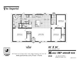 3 bedroom trailer floor plans imlt 45213b mobile home floor plan ocala custom homes