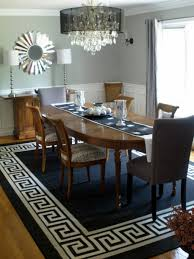 dining room contemporary dining room area rug size jute area