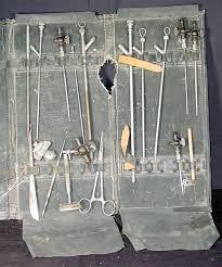 embalming tools kits shawnee town museum