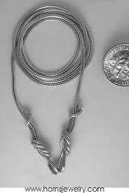 rock chain necklace images Sterling silver climbing rope replacement chain necklace rock jpg