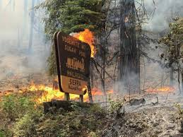 California Wildfires Highway Closures by Railroad Fire Near Yosemite Closes Highway 41 Prompts Evacuations