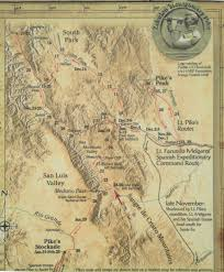 Colorado Road Conditions Map by File Map Of 1806 07 Pike Expedition In Colorado Jpg Wikimedia