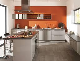cuisine blanc et cuisine orange et blanc pas cher sur cuisine lareduc com