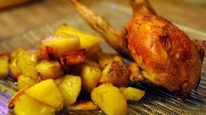 comment cuisiner des cailles au four cailles au four et pommes de terre recettes portugaises