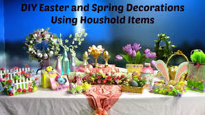 Spring Decoration by Diy Beautiful Easter And Spring Decorations Using Household Items