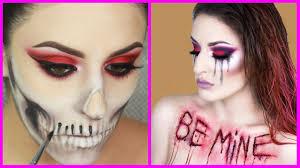 top 15 easy halloween makeup tutorials compilation 2017 new