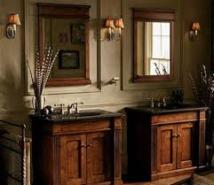 Rustic Bathroom Vanity Cabinets by Split Double Vanity In Cabinets Bathroom Rocket Potential