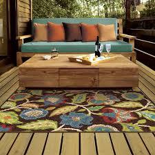 Outdoor Throw Rugs Andover Mills Gilson Brown Indoor Outdoor Area Rug Reviews Wayfair