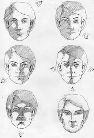 how to shade a face drawing shadows on face drawing shading on