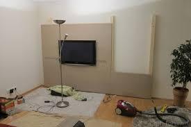 Wohnzimmer Ideen Holz Tv Wand Selber Bauen 80 Kreative Vorschläge Archzine Net