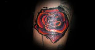 single rose tattoos cool tattoos bonbaden