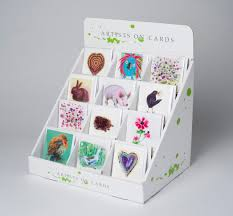 counter top box for 120 mini greeting cards ctb 01 artists on