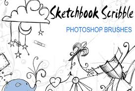500 sketch photoshop brushes for hand drawn effects photoshop