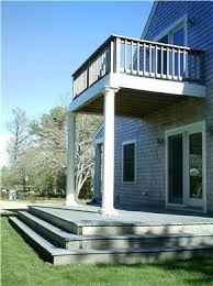 Backyard Porches And Decks by Get 20 Second Story Deck Ideas On Pinterest Without Signing Up