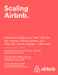 carnegie mellon university airbnb information session and tech