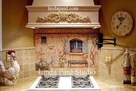 kitchen tile murals backsplash country kitchen backsplash tiles wall murals