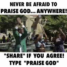 Praise God Meme - medina pullings praise god credit official hezekiah walker