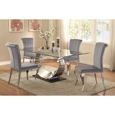 manessier contemporary table and chair set dining room sets dining